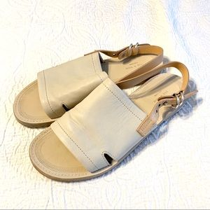 Rag and Bone ivory leather sandals